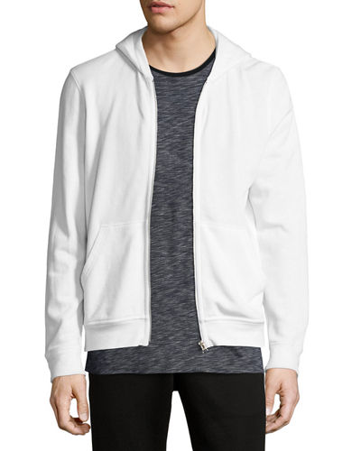 French Terry Zip-Up Hoodie