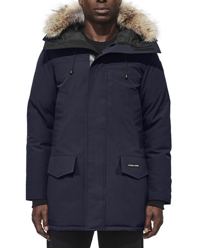 Langford Arctic-Tech Parka Jacket with Fur Hood