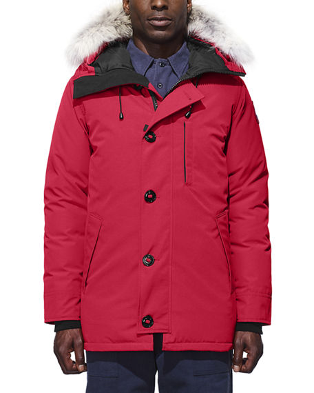 canada goose parka with fur
