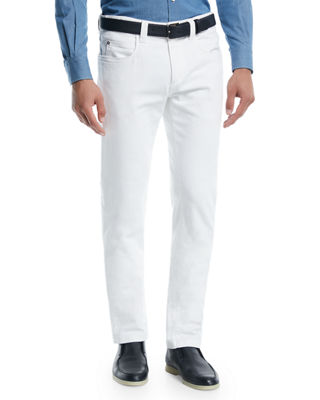 Loro Piana Tasche 5-Pocket Slim-Fit Denim Jeans