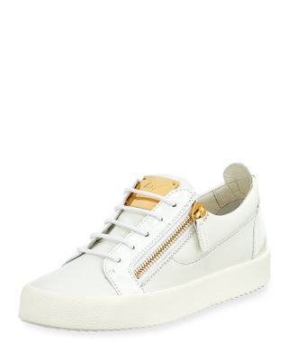 Giuseppe Zanotti Men's Patent Leather Low-Top Sneaker