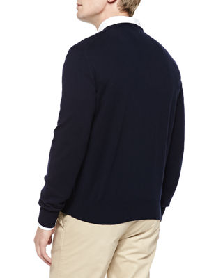 Image 2 of 2: Baby Cashmere V-Neck Sweater