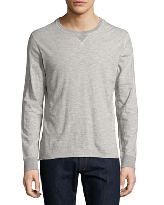 Billy Reid Dylan Long-Sleeve Crewneck T-Shirt