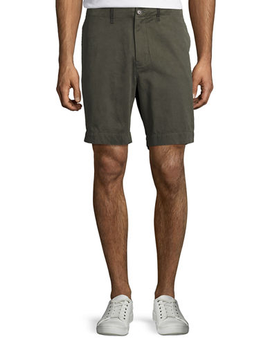 Clyde Cotton-Linen Shorts