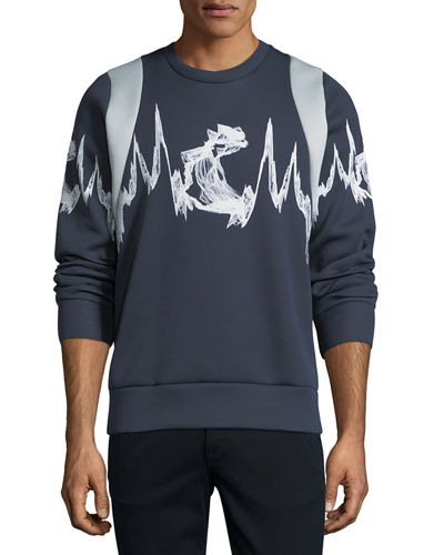 MCM x CR Collection Sonic Wave Sweatshirt