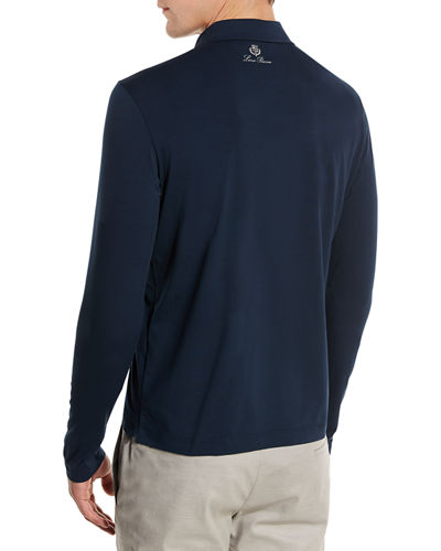 Ryder Cup Dry Fit Long-Sleeve Jersey Zip Polo Shirt