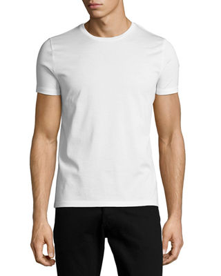 Tricolor Side-Stripe T-Shirt
