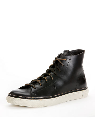 Frye Men's Gates Leather High-Top Sneaker