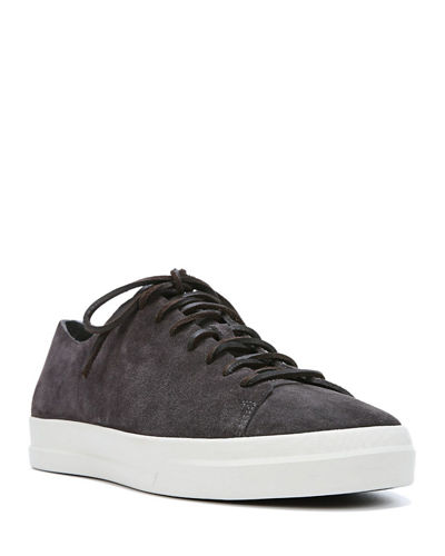 Vince Copeland Raw-Edge Suede Low-Top Sneaker