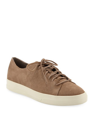 Copeland Raw-Edge Suede Low-Top Sneaker