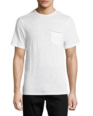 Men's Owen Cotton Pocket Crewneck T-Shirt
