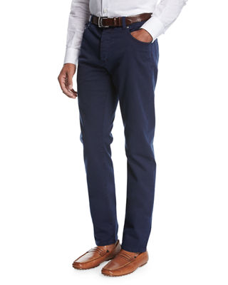 Isaia Regular Fit Denim Jeans
