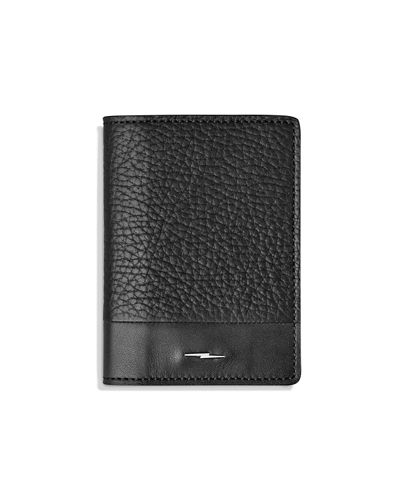 Shinola Bolt Fold Leather Card Case