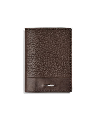 Men's Bolt Fold Leather Card Case