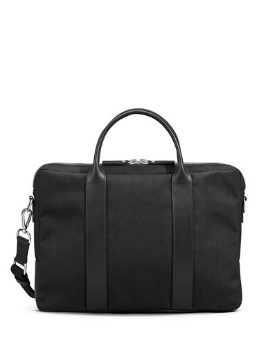 Men's Canvas Computer Briefcase