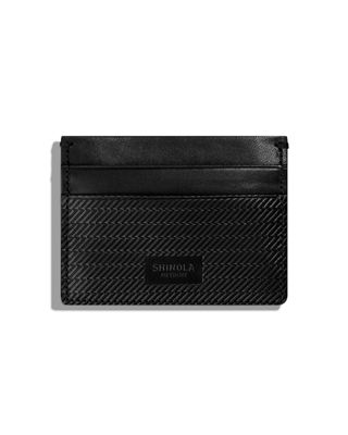 Shinola Men's Leather 5-Pocket Card Case 2.0