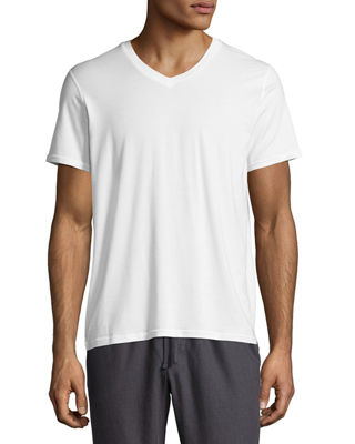 Frigo Tencel?? V-Neck T-Shirt