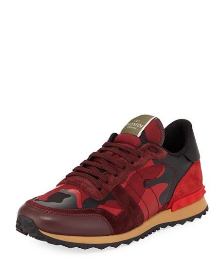 ValentinoLow-Top Runner Sneaker J7VBpE