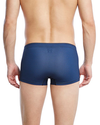 Image 2 of 2: Sliq Micro Trunk Boxer Briefs