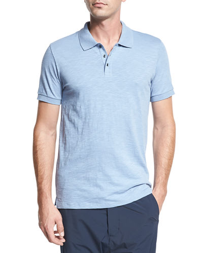 Classic Slub Cotton Polo Shirt