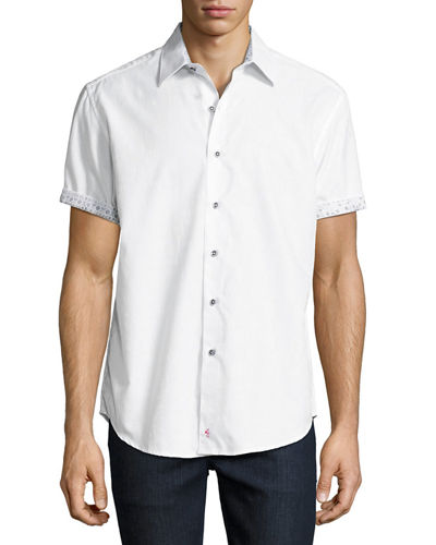 Robert Graham Cullen Short-Sleeve Sport Shirt