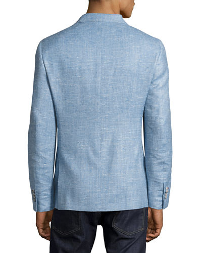 Mélange Two-Button Blazer