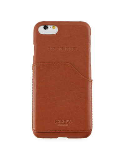 Shinola Leather Wrapped iPhone 7 Case