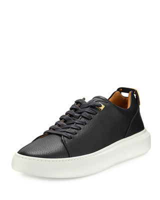 Buscemi Men's 50mm Leather Low-Top Sneaker and Matching