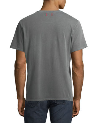 Image 2 of 3: Men's Finley Vintage-Effect Pocket T-Shirt