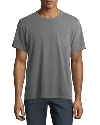 Men's Finley Vintage-Effect Pocket T-Shirt