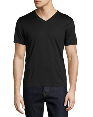 Image 1 of 2: New Clay Plaito V-Neck T-Shirt