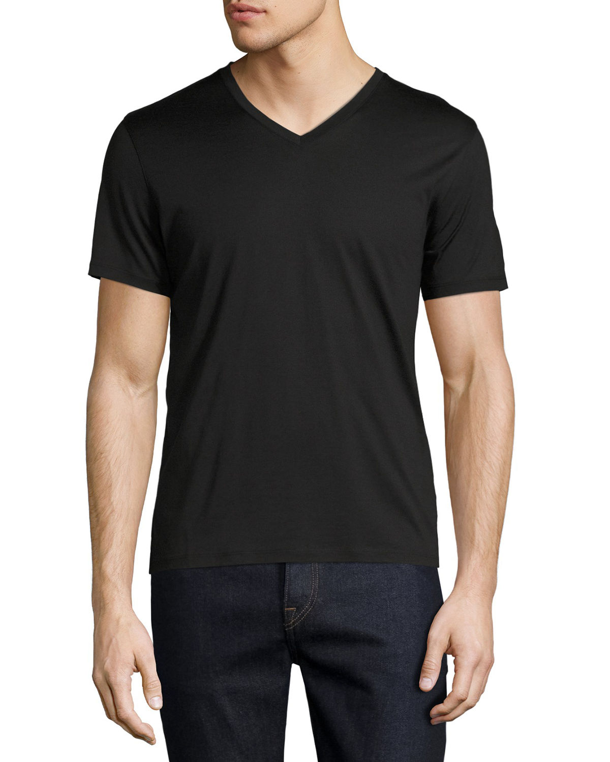 New Clay Plaito V-Neck T-Shirt