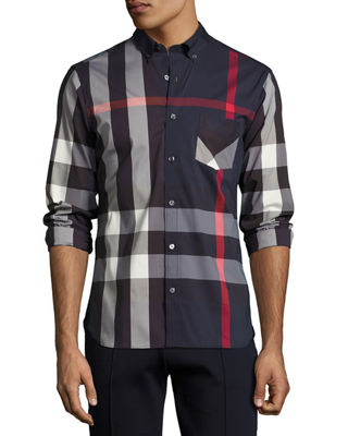 Thornaby Check Sport Shirt