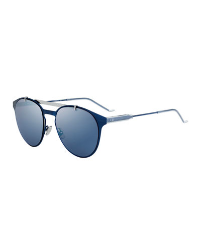 Men's Metal Pilot Sunglasses