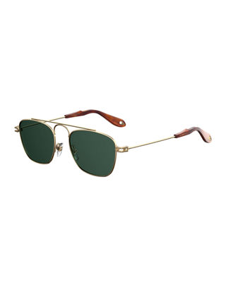 Men's GV 7055 Small Square Sunglasses