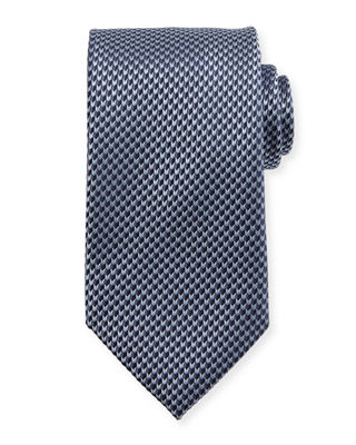 Textured Arrow Neat Tie