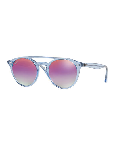 Ray-Ban Men's RB4279 Mirrored Universal-Fit Sunglasses