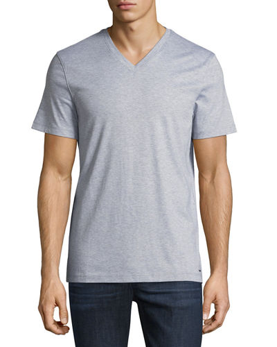 Michael Kors Men's Liquid Cotton V-Neck T-Shirt