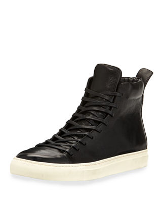 Image 1 of 3: 315 Reed Leather Mid-Top Sneaker