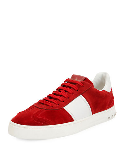 Fly Suede Low-Top Sneaker