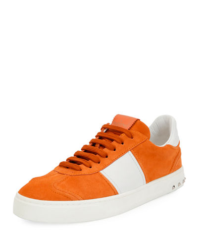 Men's Fly Suede Low-Top Sneakers