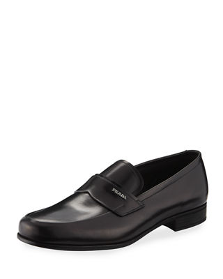 Image 1 of 4: Calf Leather Slip-On Loafer