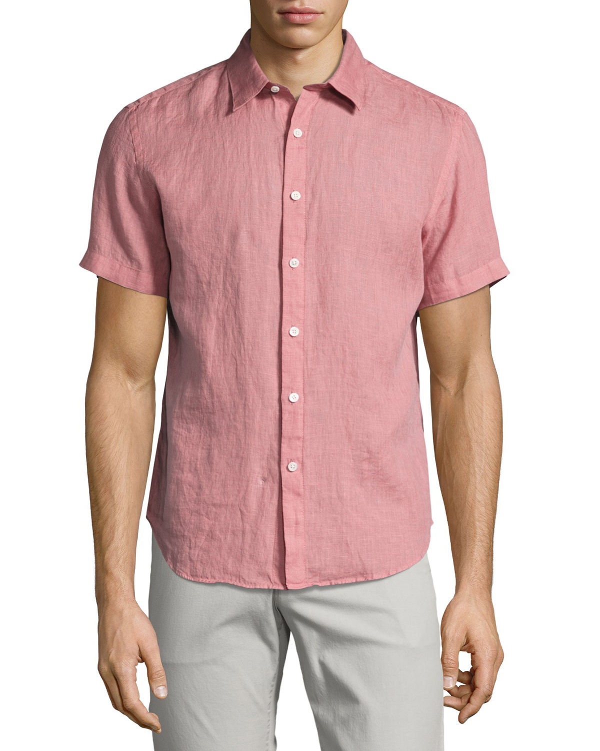 Clark Instrumental Linen Short-Sleeve Shirt