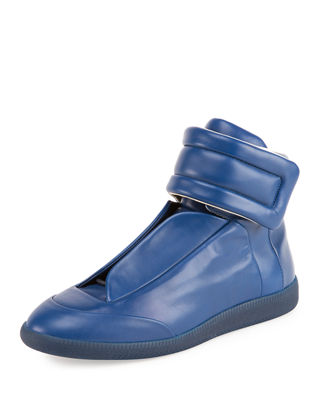MEN'S FUTURE LEATHER HIGH-TOP SNEAKERS