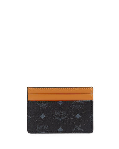 MCM Claus Visetos Card Case