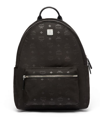MCM Dieter Monogramed Canvas Backpack