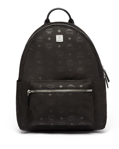 Dieter Monogramed Canvas Backpack