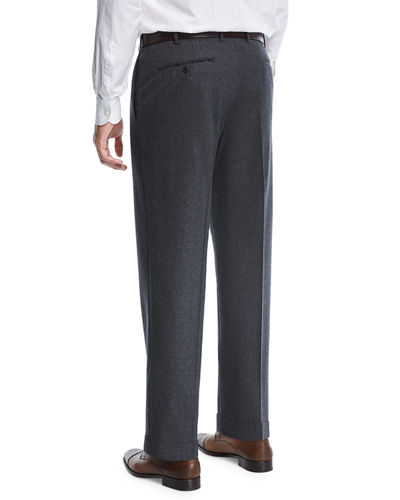 Super 120s Wool Trousers
