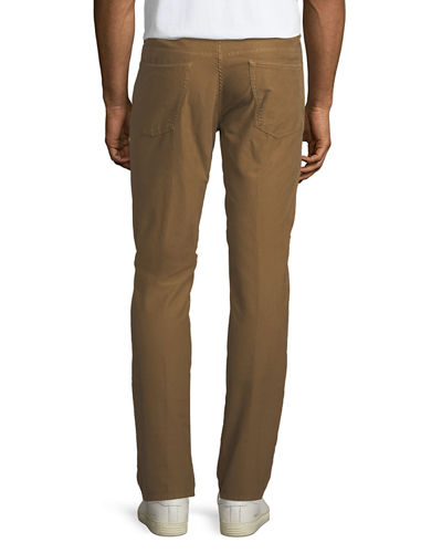Brushed Twill Five-Pocket Pants