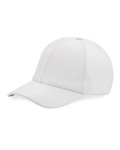 Buscemi Calf Leather Baseball Cap